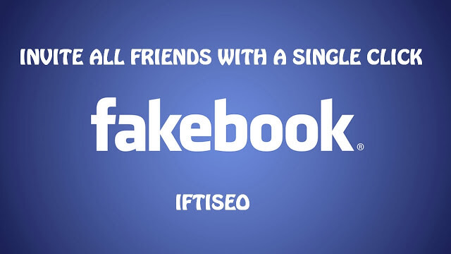 How to Invite All Facebook Friends to Like any Page 2016