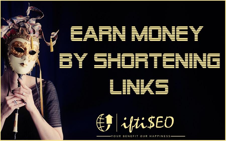 earn money from url shorteners