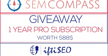 SEM COMPASS giveaway