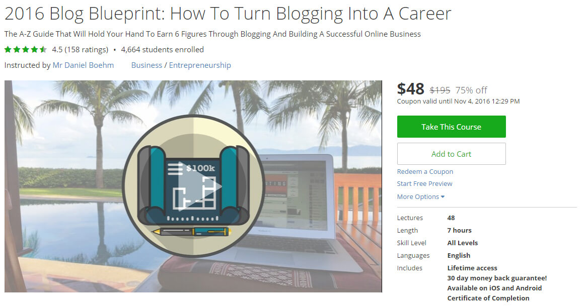 2016 Blog Blueprint: How To Turn Blogging Into A Career