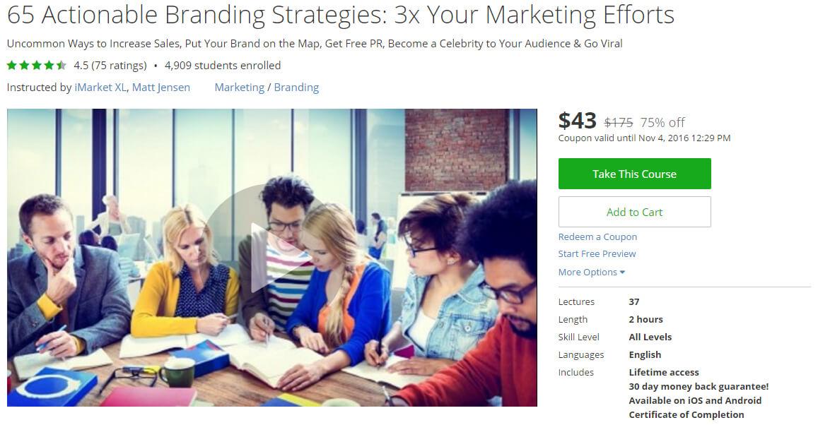 65 Actionable Branding Strategies: 3x Your Marketing Efforts