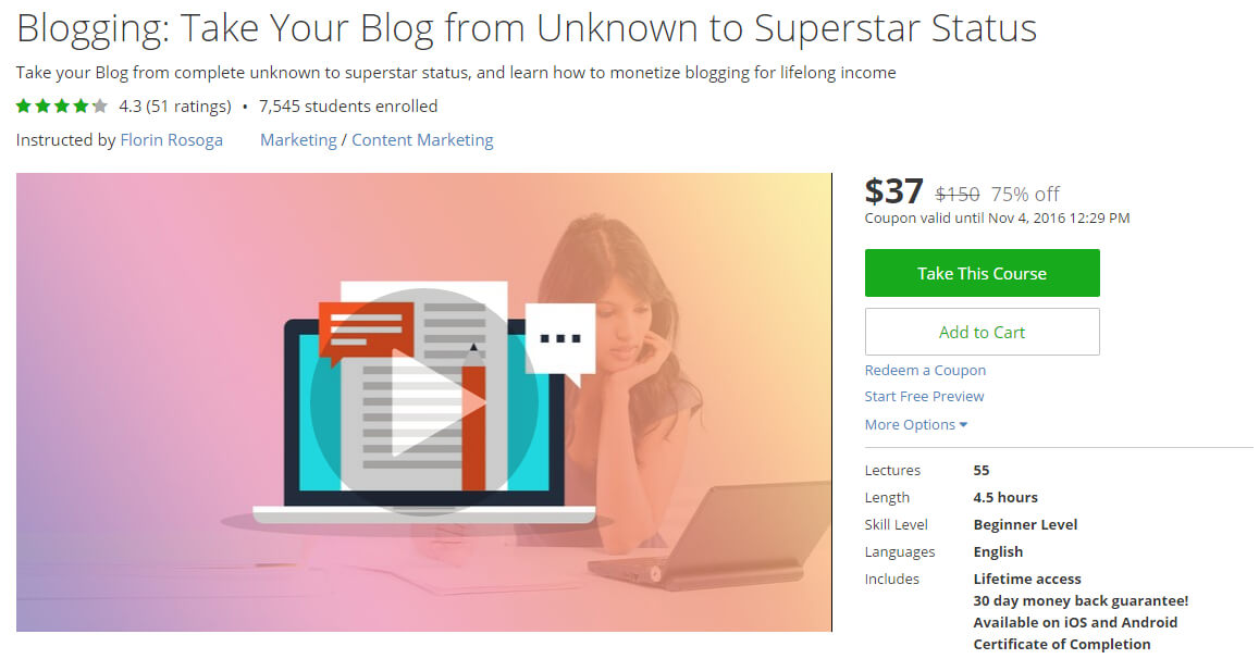 Blogging - Take Your Blog from Unknown to Superstar Status