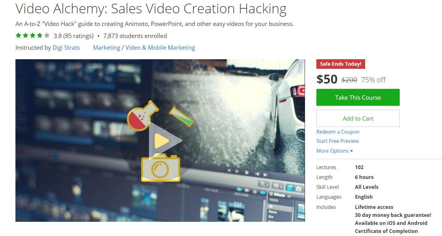 Video Alchemy: Sales Video Creation Hacking